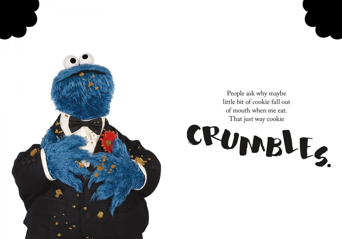 Cookie Monster's New Book Is Titled 'the Joy Of Cookies'