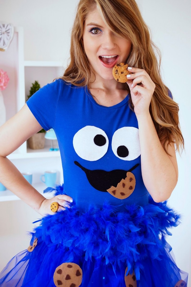 26 Cookie And Cookie Monster Costume, The Joy Of Fashion