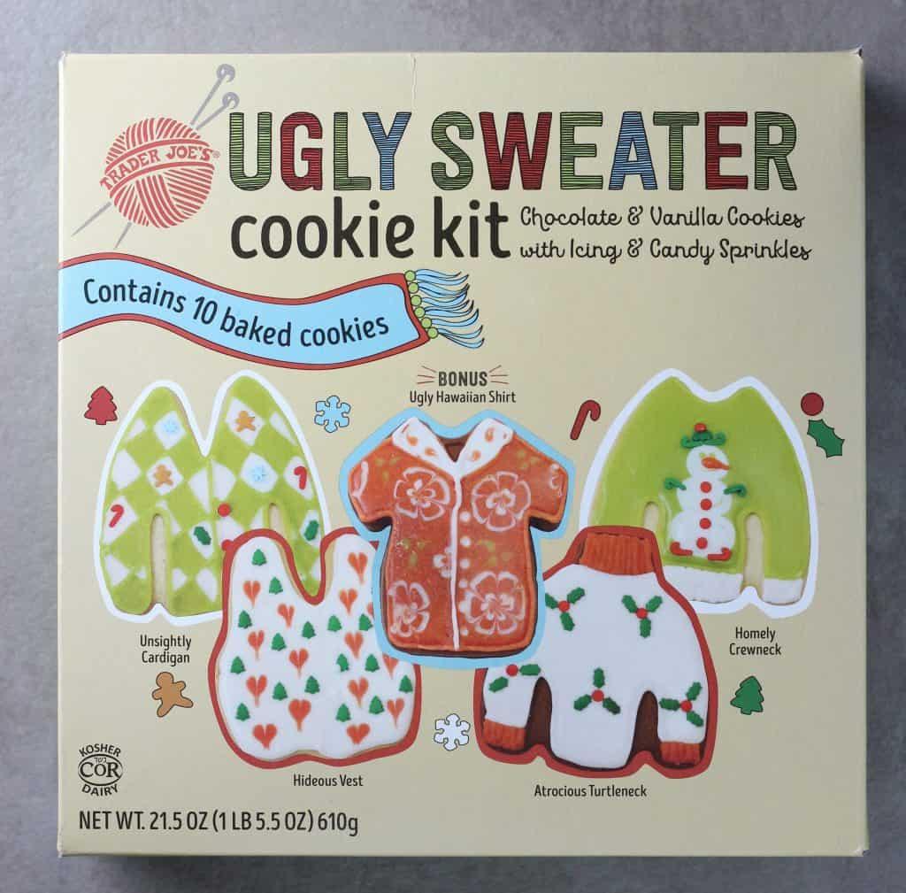 Trader Joe's Ugly Sweater Cookie Kit