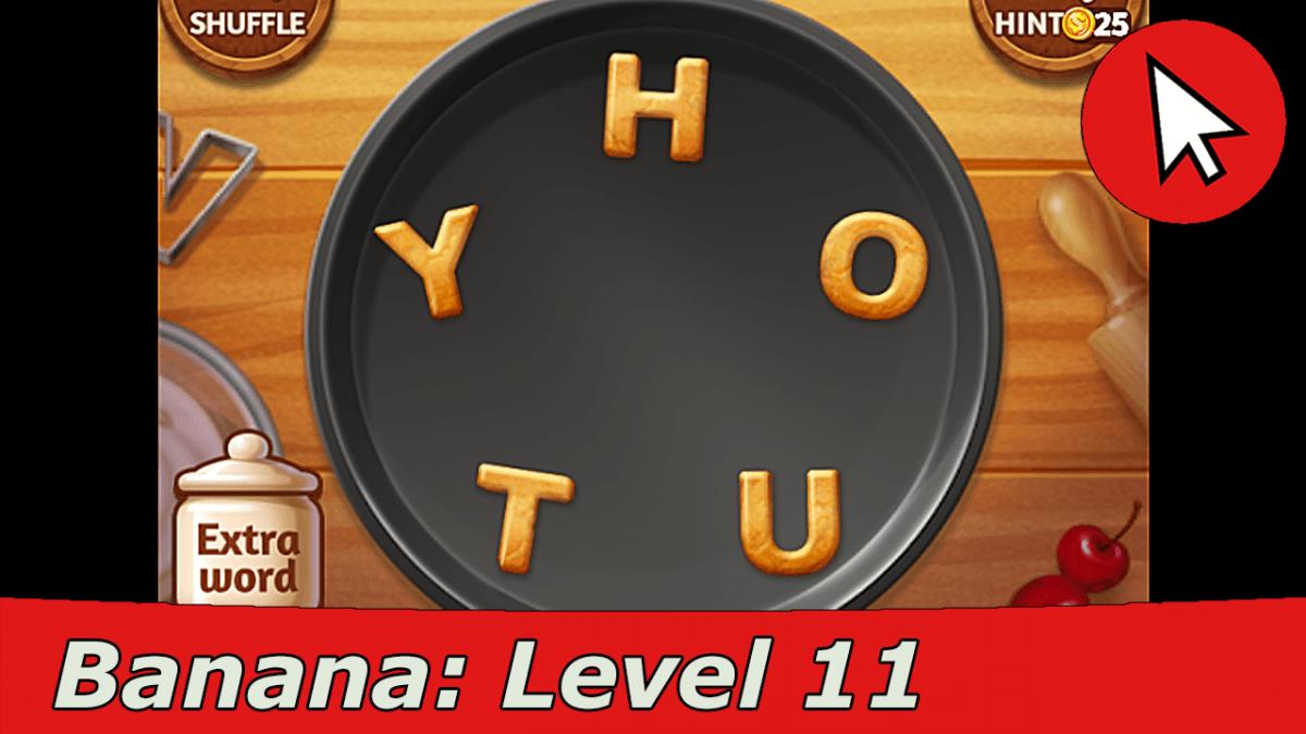 Word Cookies Banana 11 Answers