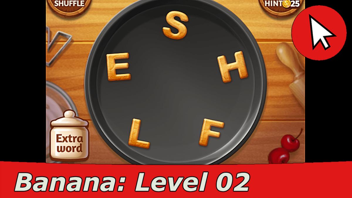 Word Cookies Banana 2 Answers