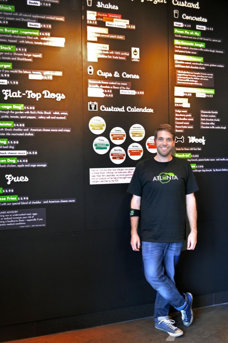 Mark Rosati  Shake Shack's Culinary Director