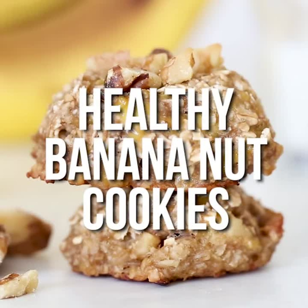 Banana Nut Breakfast Cookies