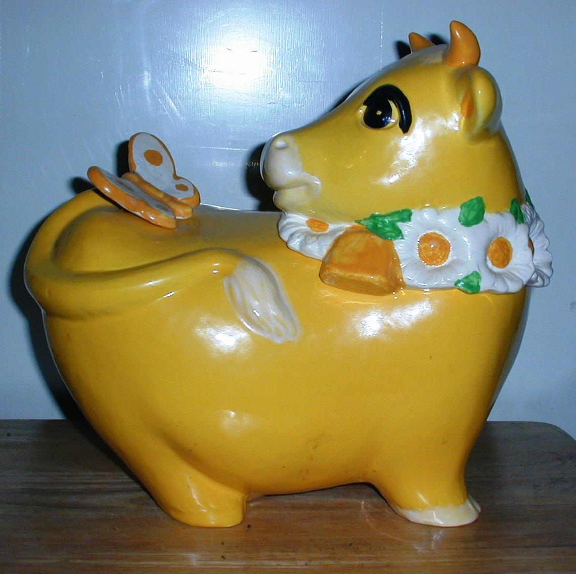 Metlox Yellow Cow ~rare~ Collector Cookie Jar – Collector Cookie Jars