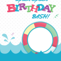 Pictures Of Pool Party Invitations