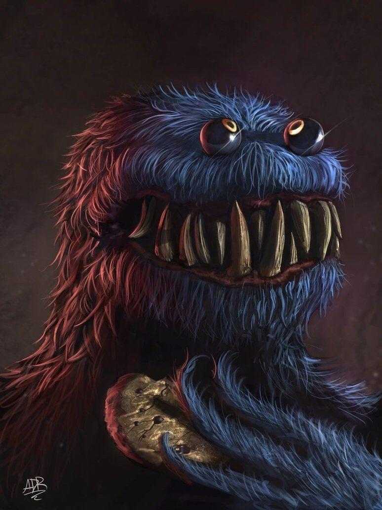 Evil Cookie Monster