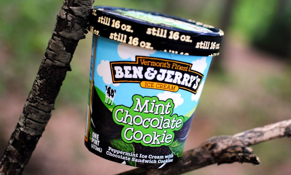Food And Ice Cream Recipes  Review  Ben & Jerry's Mint Chocolate