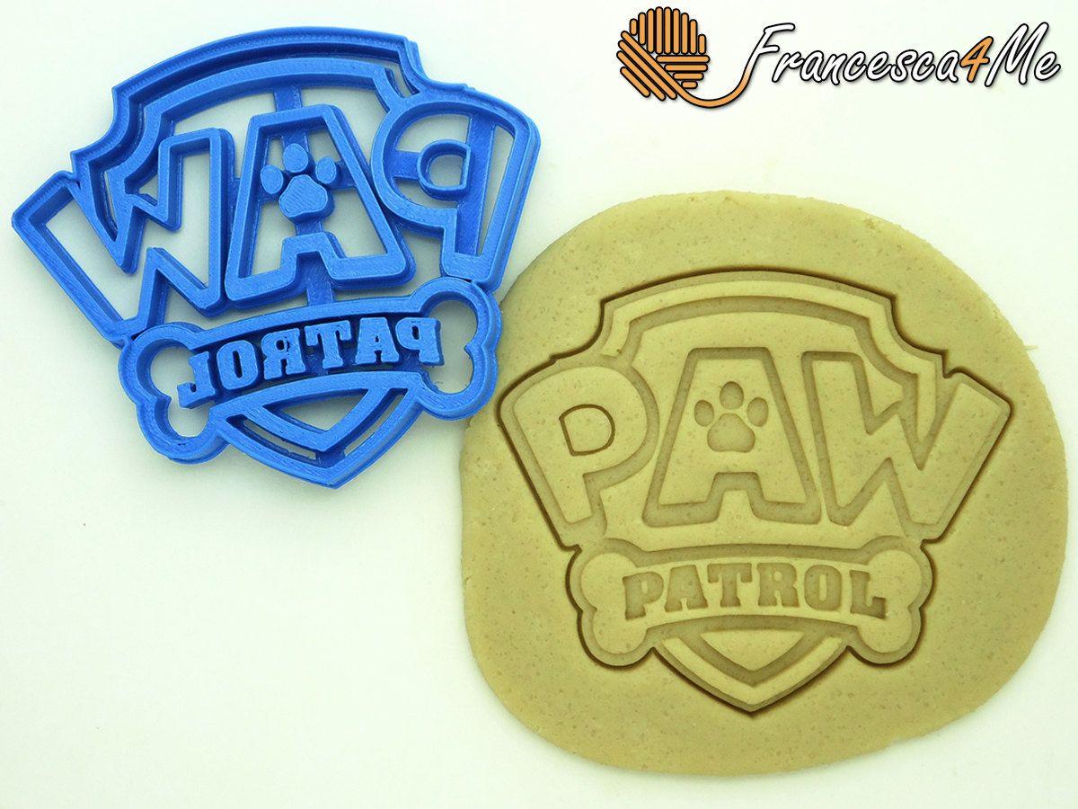 Paw Patrol Cookie Cutter Logo Multi