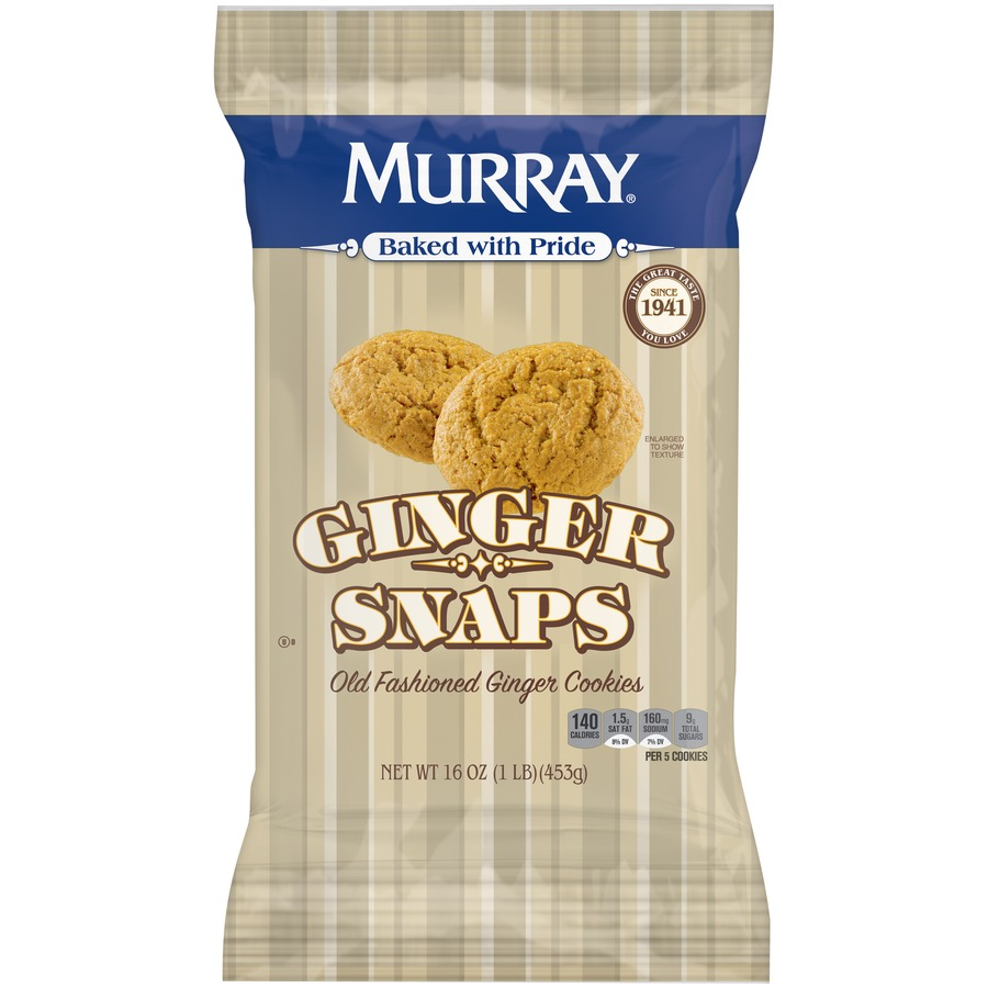 Murray Old Fashioned Ginger Snaps Cookies, 16 Oz  – Walmart