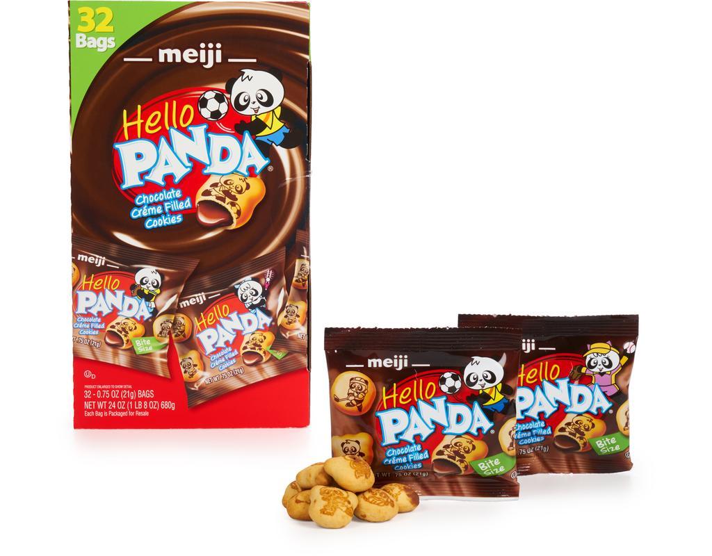 Meiji Chocolate Créme Filled Cookies 32 X 0 75 Oz