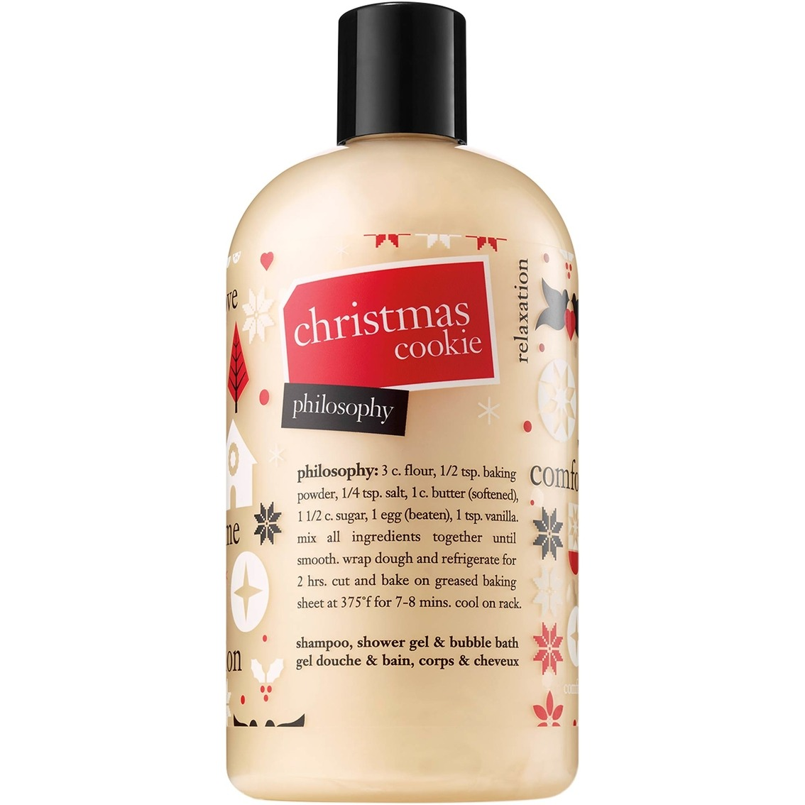 Philosophy Christmas Cookie Shampoo, Shower Gel And Bubble Bath
