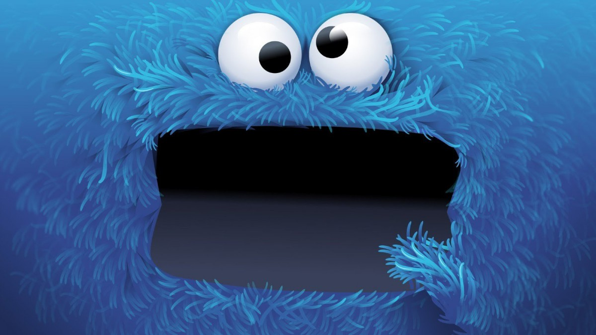 Wallpaper   1600x900 Px, Blue, Cookie Monster, Eyes, Face 1600x900