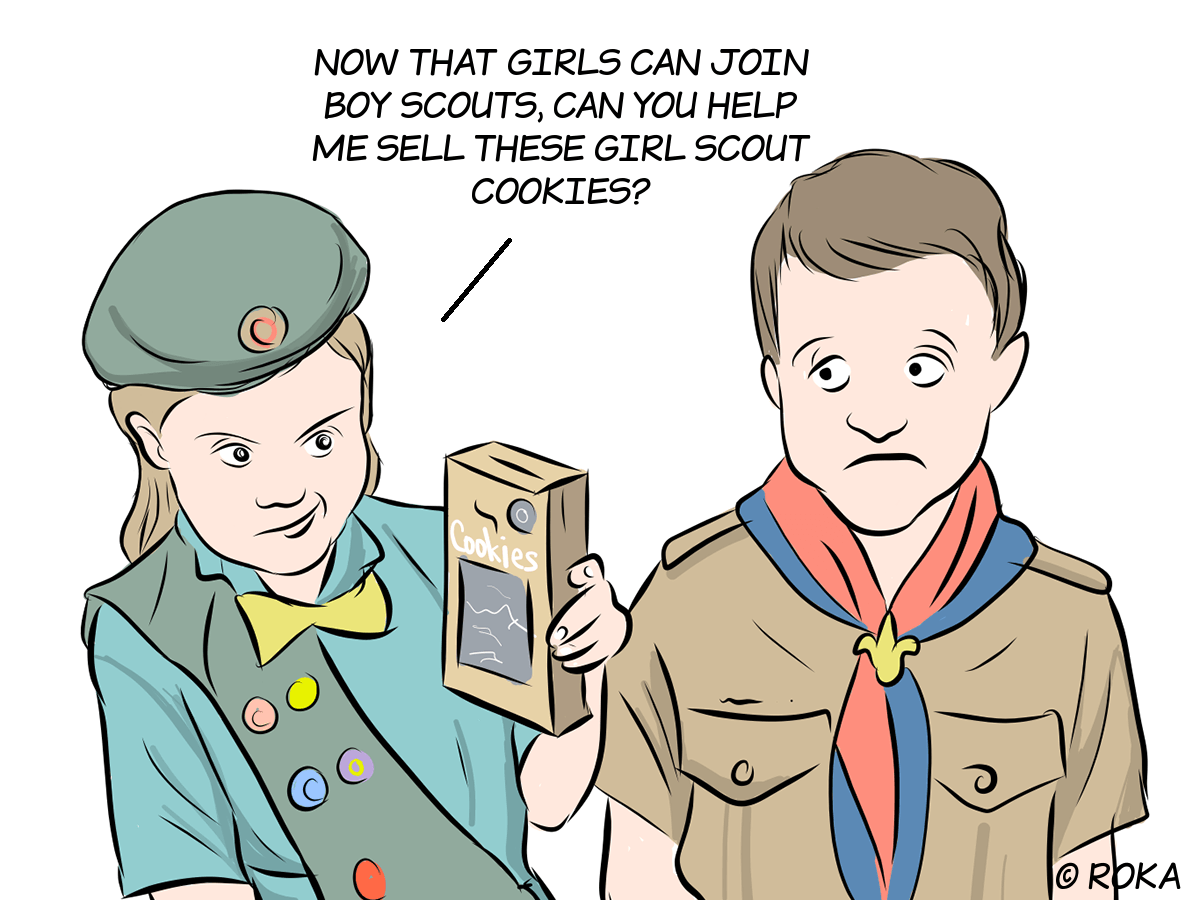 Boy Scout Cookies – Big Deal – Medium