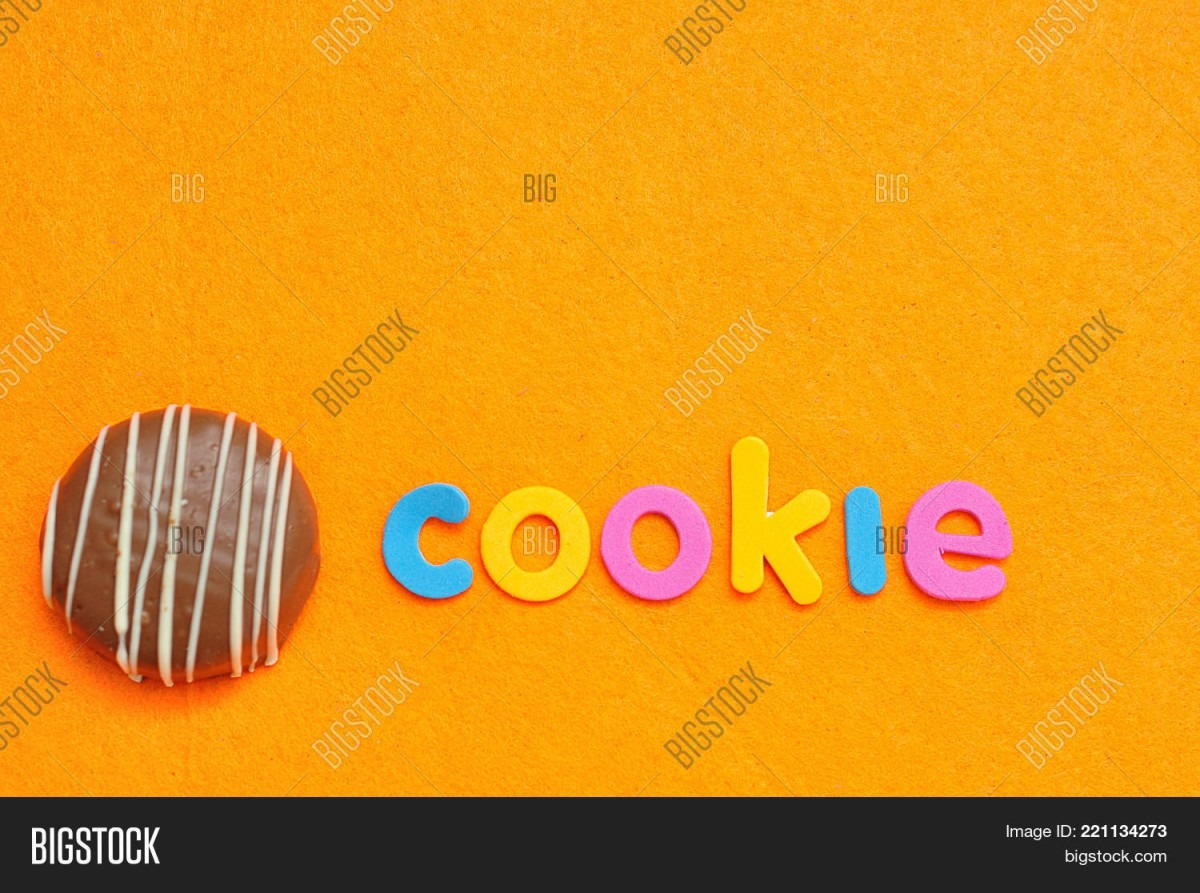 Word Cookie Chocolate Image & Photo (free Trial)