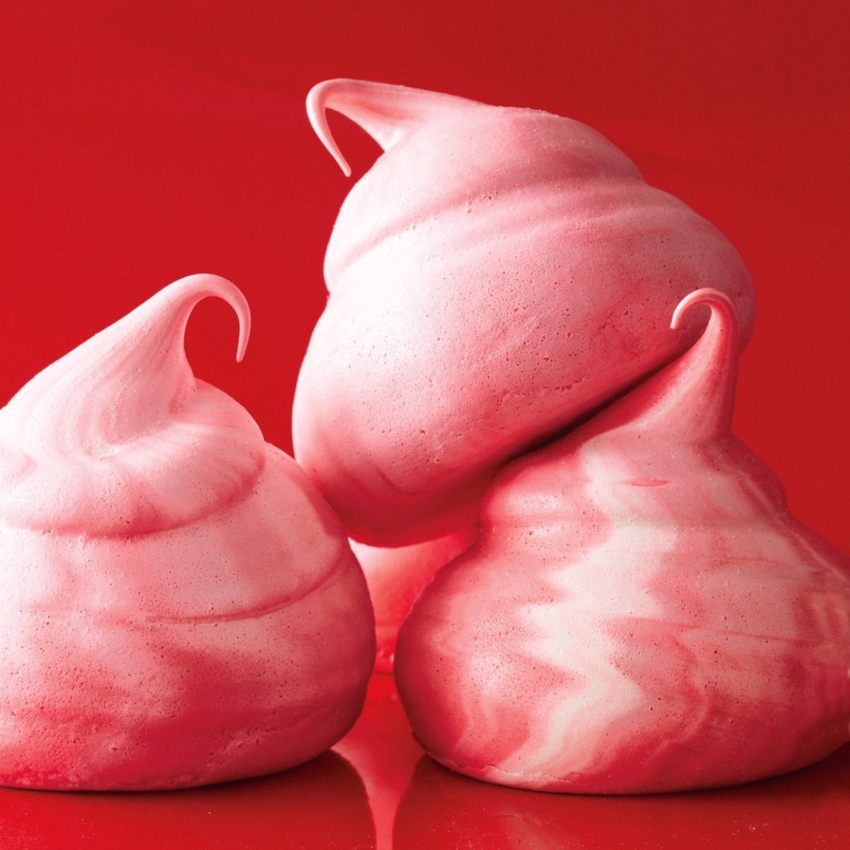 Peppermint Meringues Recipe