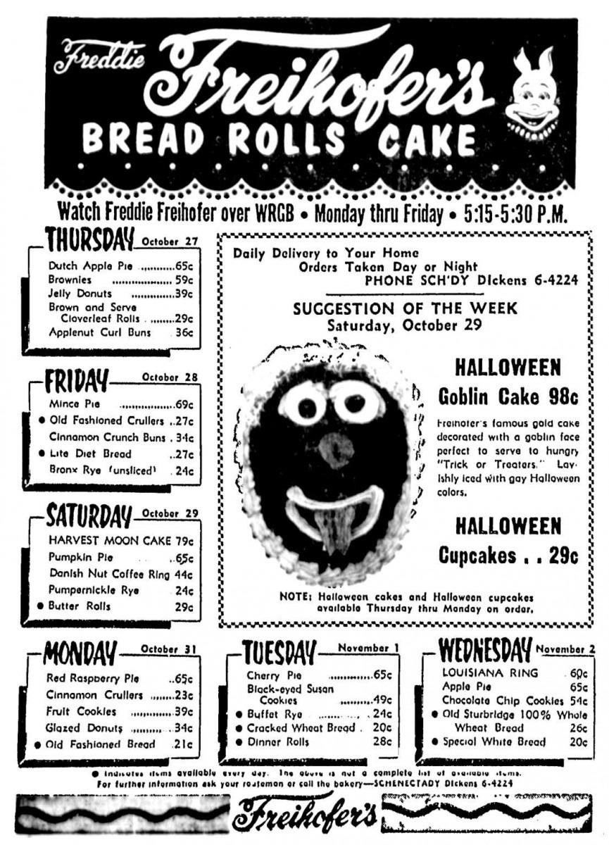 Freihofer's Bakery In Schenectady Ny