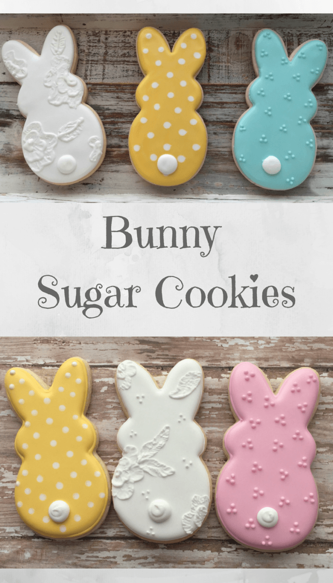 Bunny Cookies Easter Cookies Basket Gift Ideas  Affiliate
