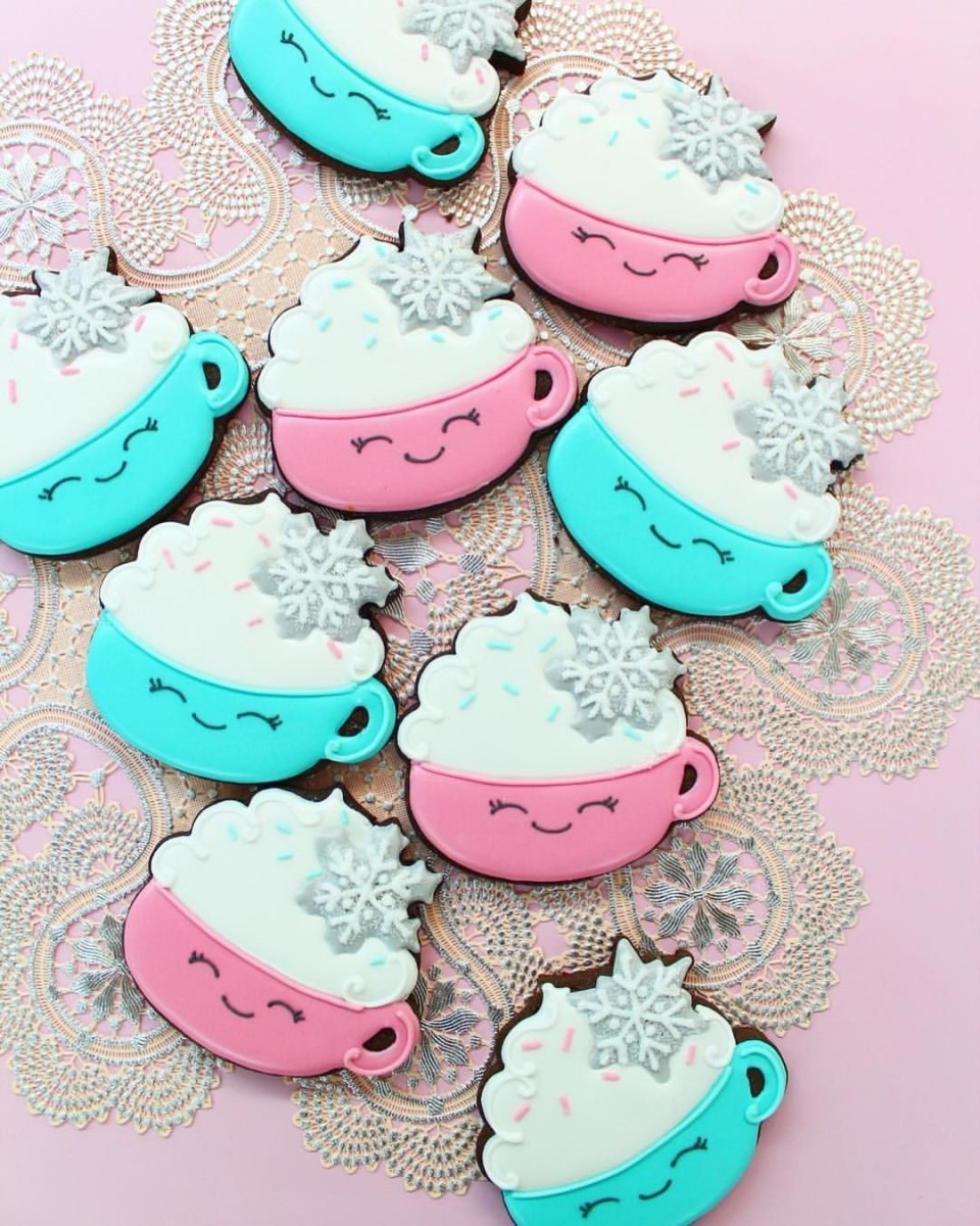 Holiday Mug Cookies❄    Y&csweets Original Design Cookie Cutter