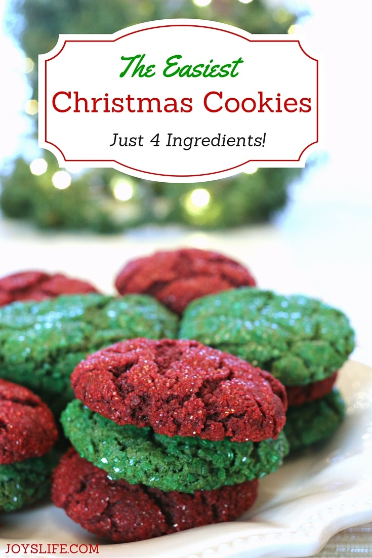 The Easiest Christmas Cookies Ever