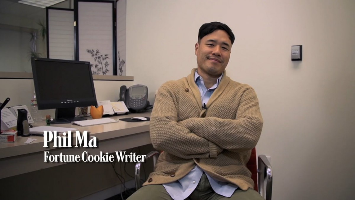 Profiles In Excellence  Phil Ma, Fortune Cookie Writer On Vimeo