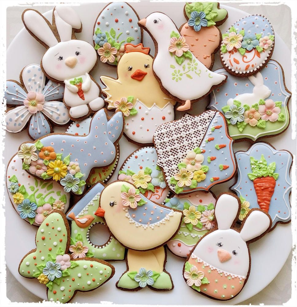 Soft Easter Cookie Set By Lina Eidukaitė
