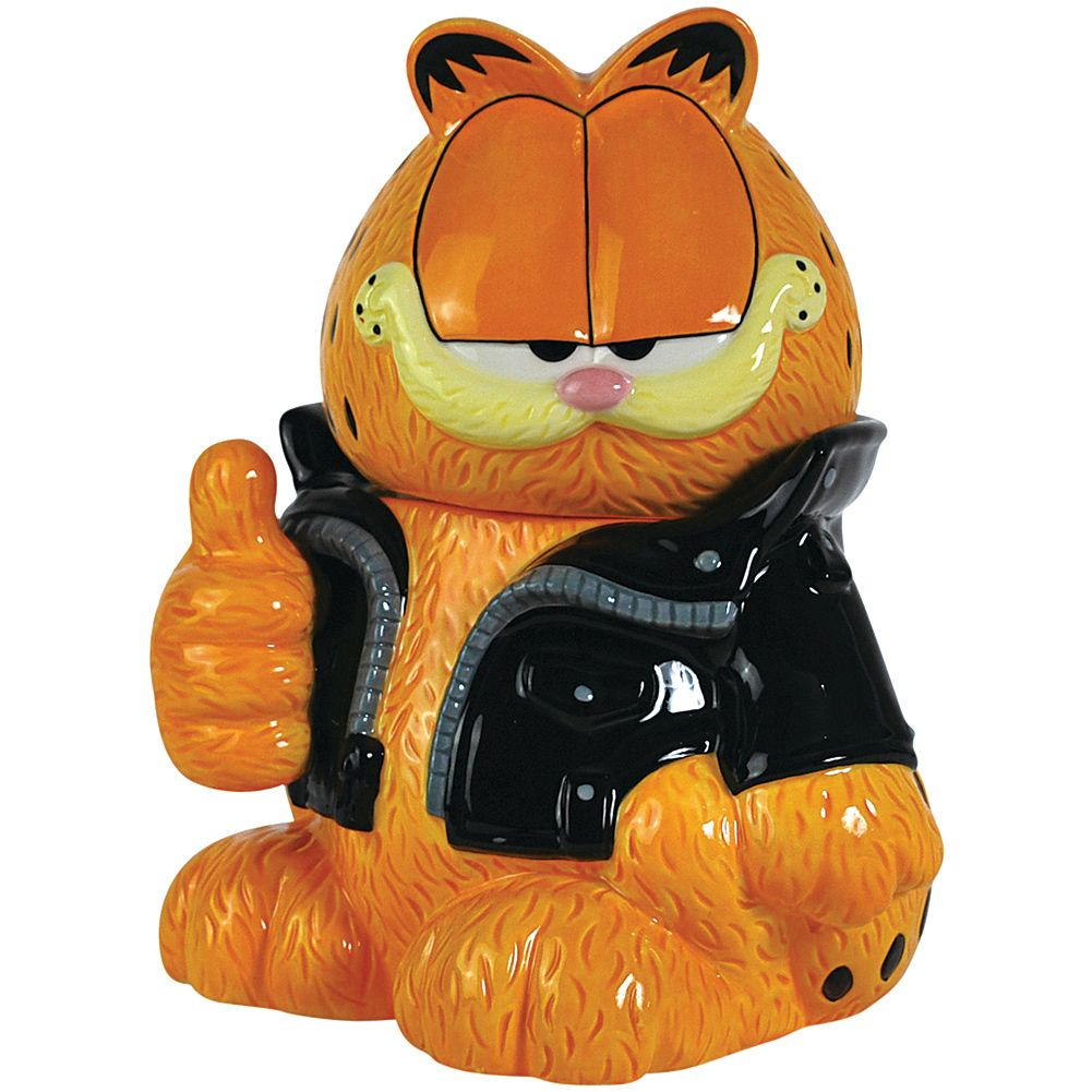 The Garfield Too Cool Cookie Jar Stands 11 1 4