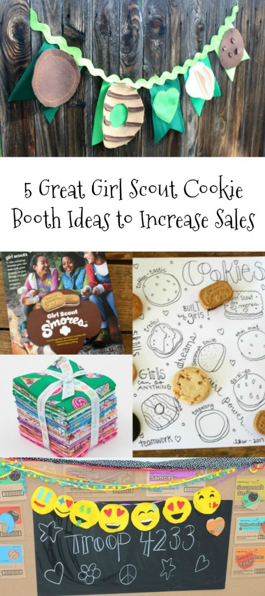 5 Great Girl Scout Cookie Booth Ideas To Increase Sales