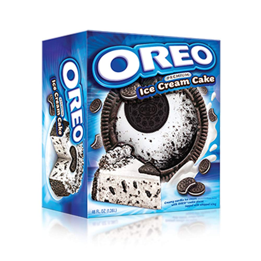 Oreo Premium Ice Cream Cake Made With Real Oreo Cookies And Creamy