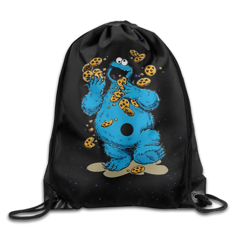 Amazon Com  Cookie Monster Belt Backpack,fashion Trend, Polyester