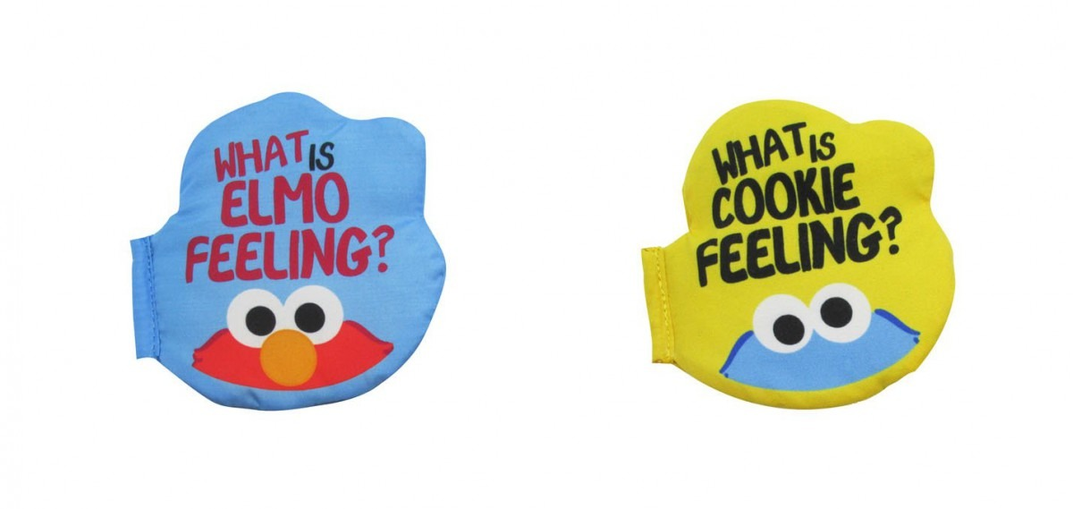 Buy Sesame Street Elmo And Cookie Monster Emoji Silly Faces Baby
