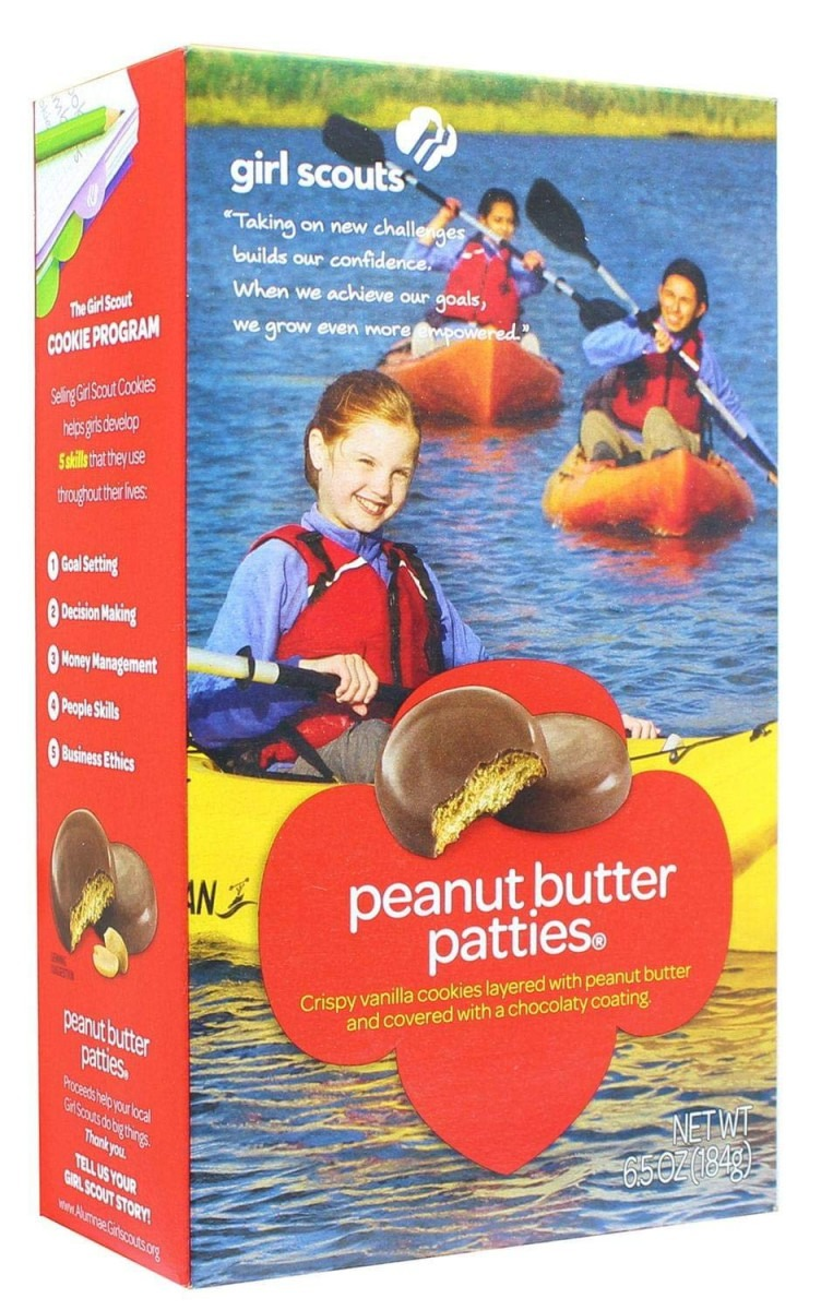 Amazon Com  Girl Scout Peanut Butter Patties Cookies (6 5 Ounce Box)