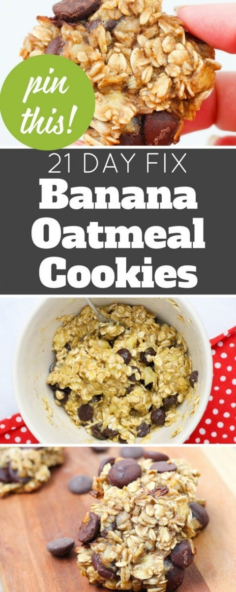 These Banana Oatmeal Cookies Are A Healthier Dessert  No Flour