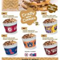 Cookie Dough Fundraiser Tubs