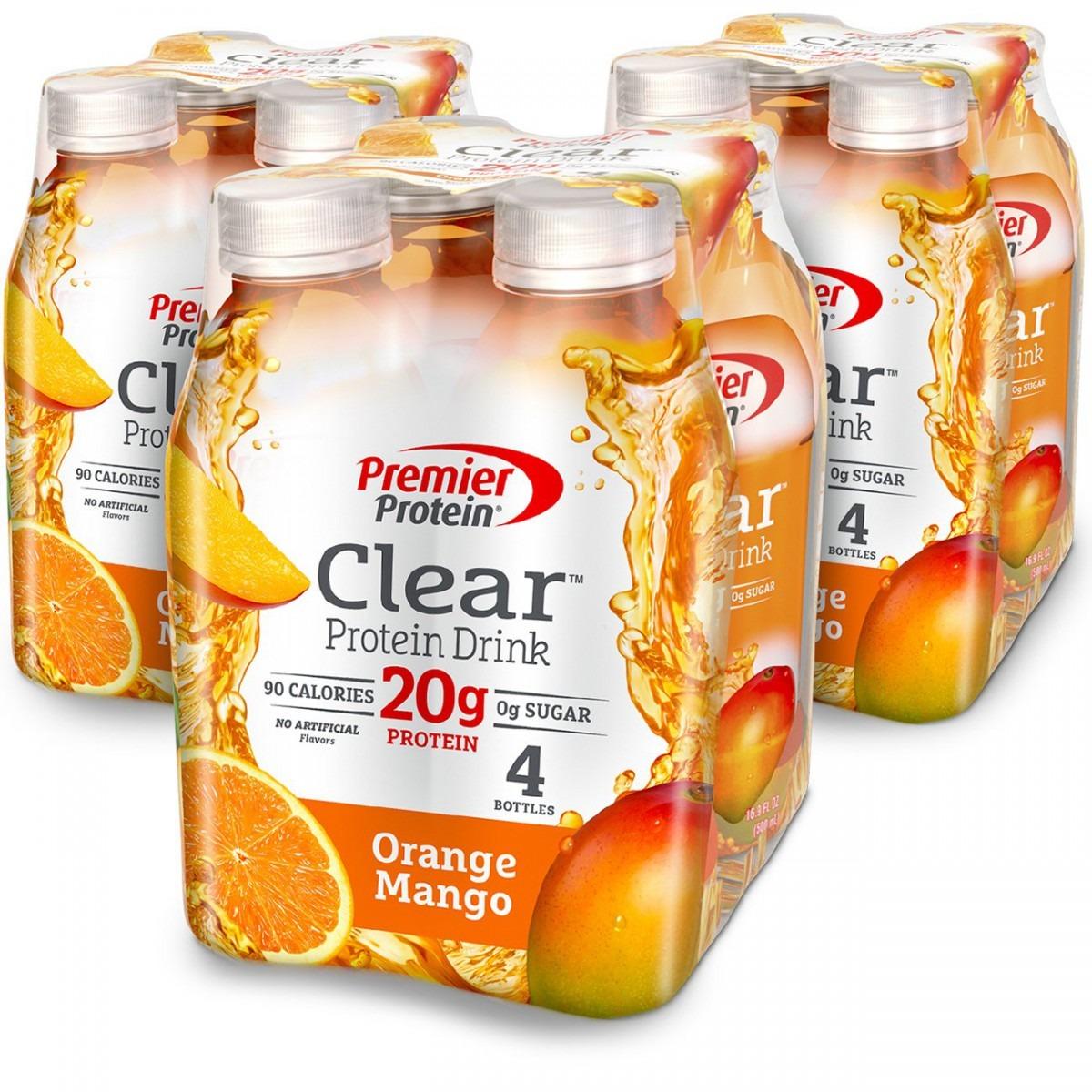 Amazon Com  Premier Protein Clear Protein Drink, Orange Mango