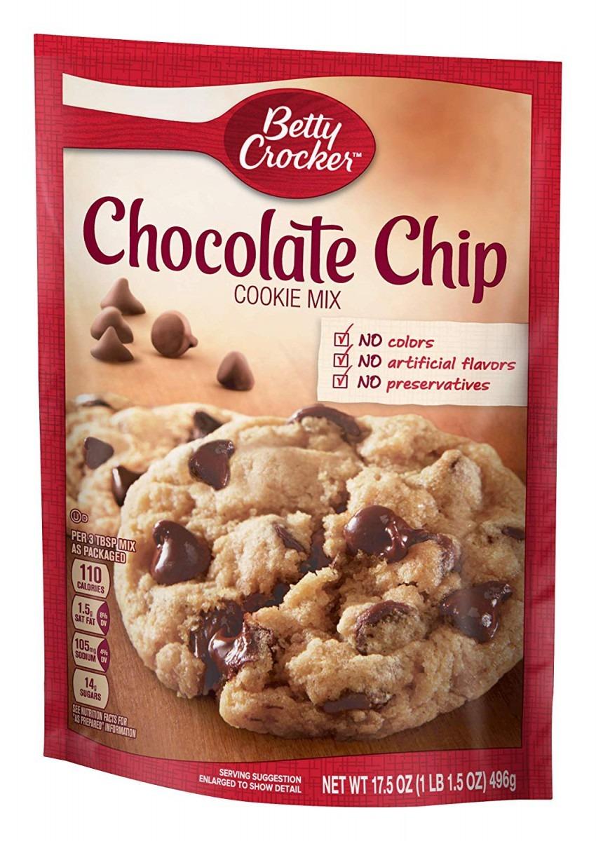 Amazon Com   Betty Crocker Cookie Mix, Chocolate Chip, 17 5 Oz