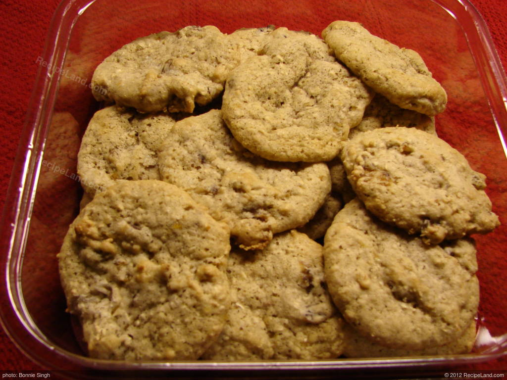 Fat Free Oatmeal Raisin Cookies Recipe