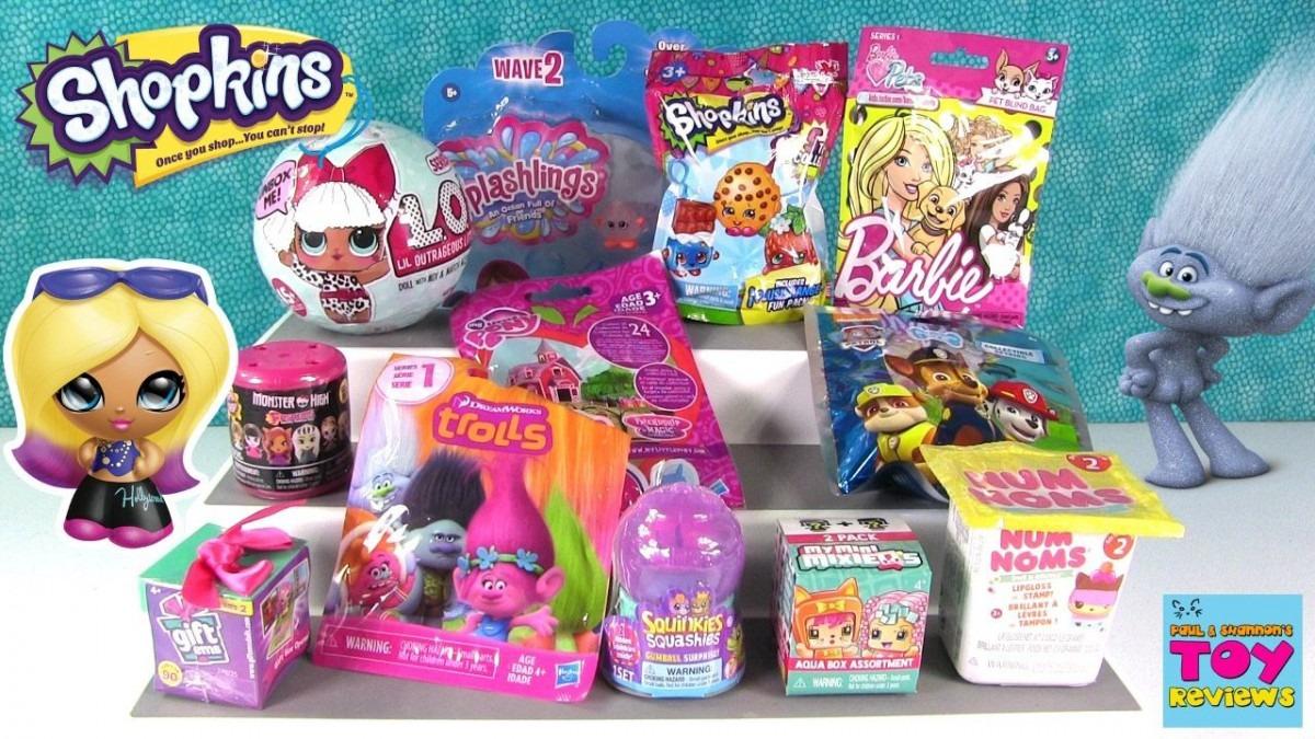 Trolls Gift Ems Lol Surprise Doll Barbie Pets Blind Bag Toy