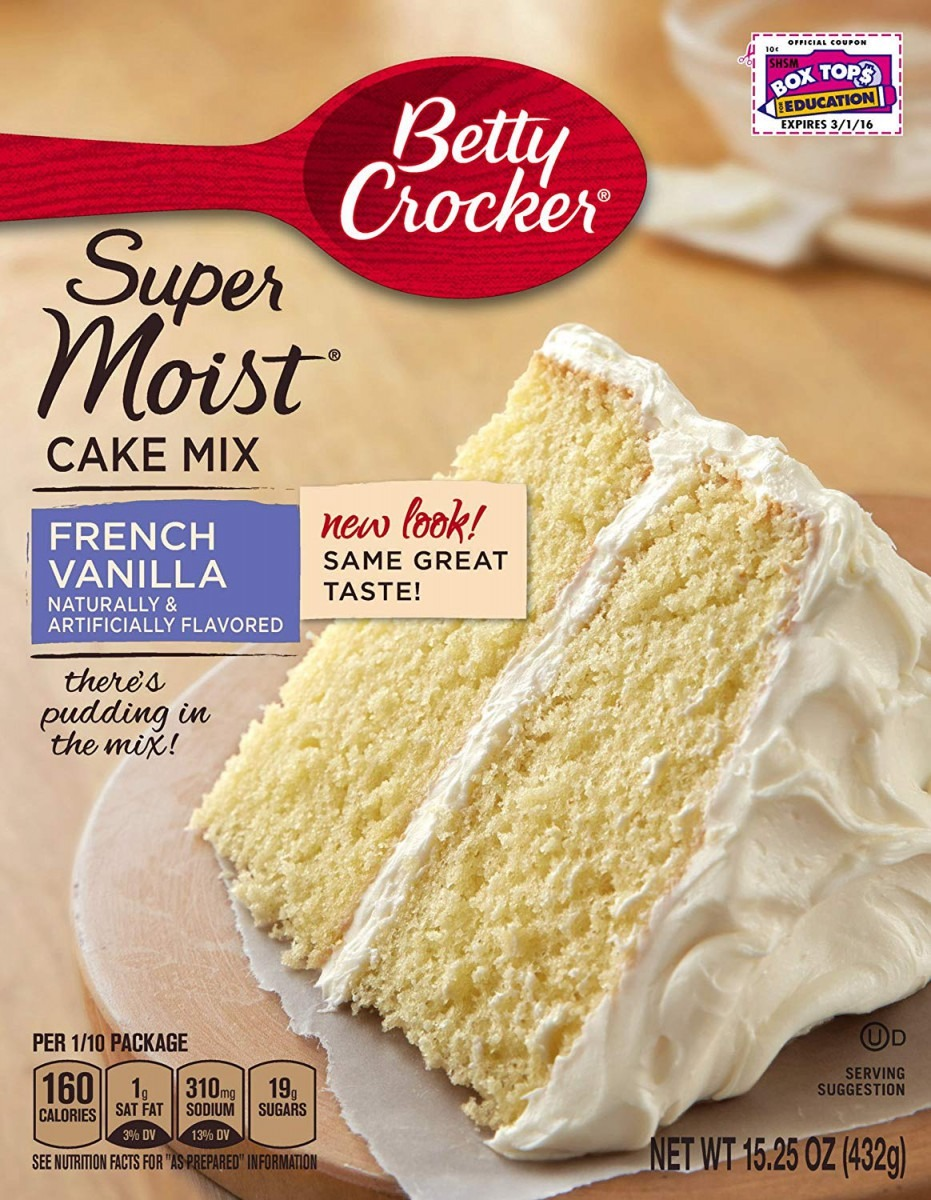 Amazon Com   Betty Crocker Baking Mix, Super Moist Cake Mix