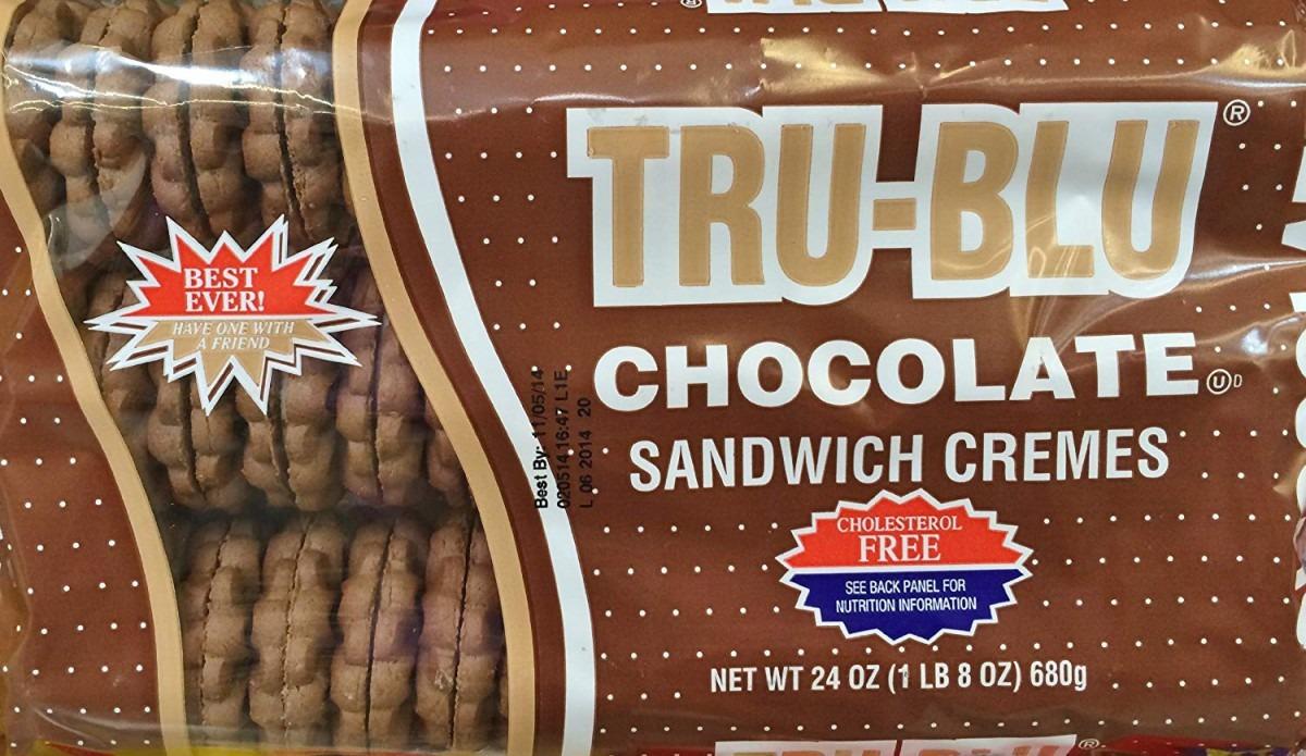Amazon Com  24oz Tru Blu Sandwich Cremes Cookies, Chocolate, Pack Of 2