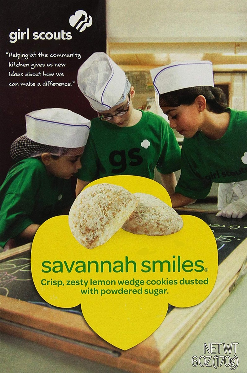 Amazon Com  Girl Scout Cookies   Savannah Smiles   Crunchy Lemon