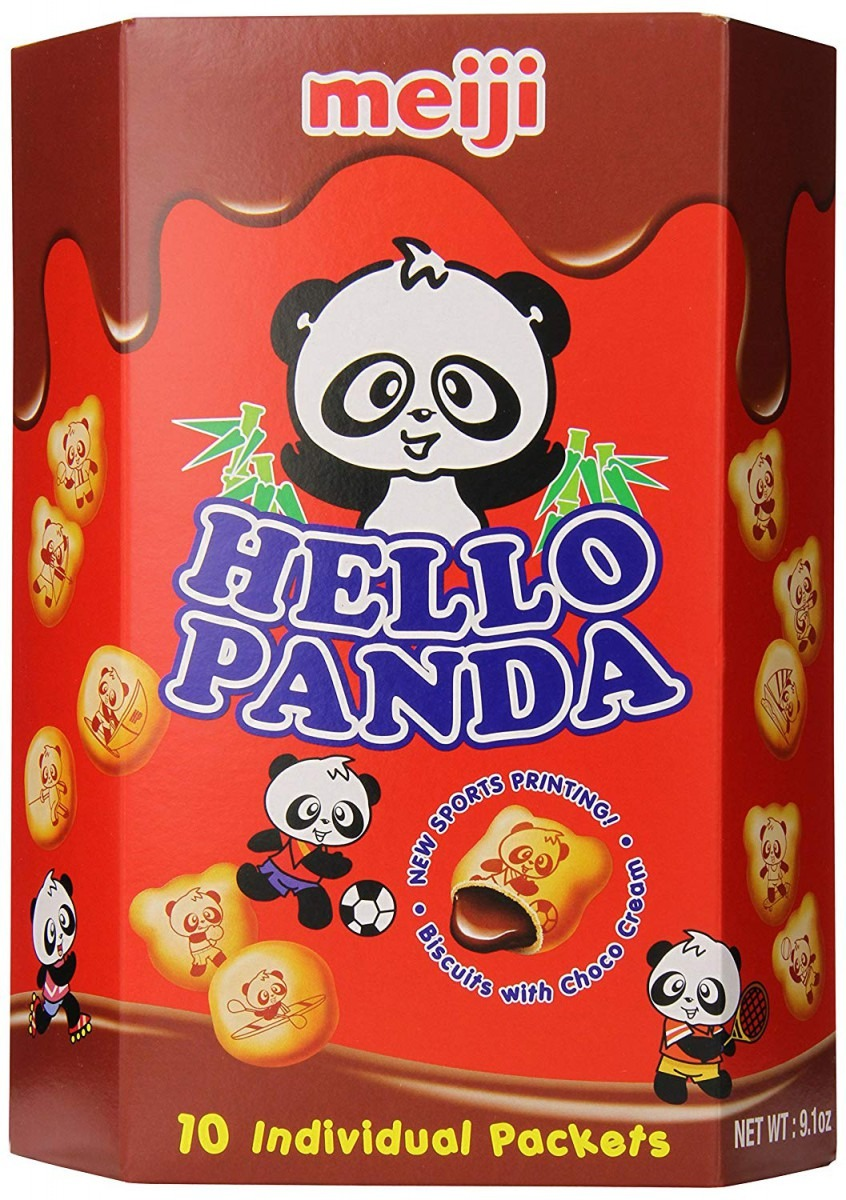Meiji Hello Panda Chocolate Biscuit, 9 1 Ounce  Amazon Com