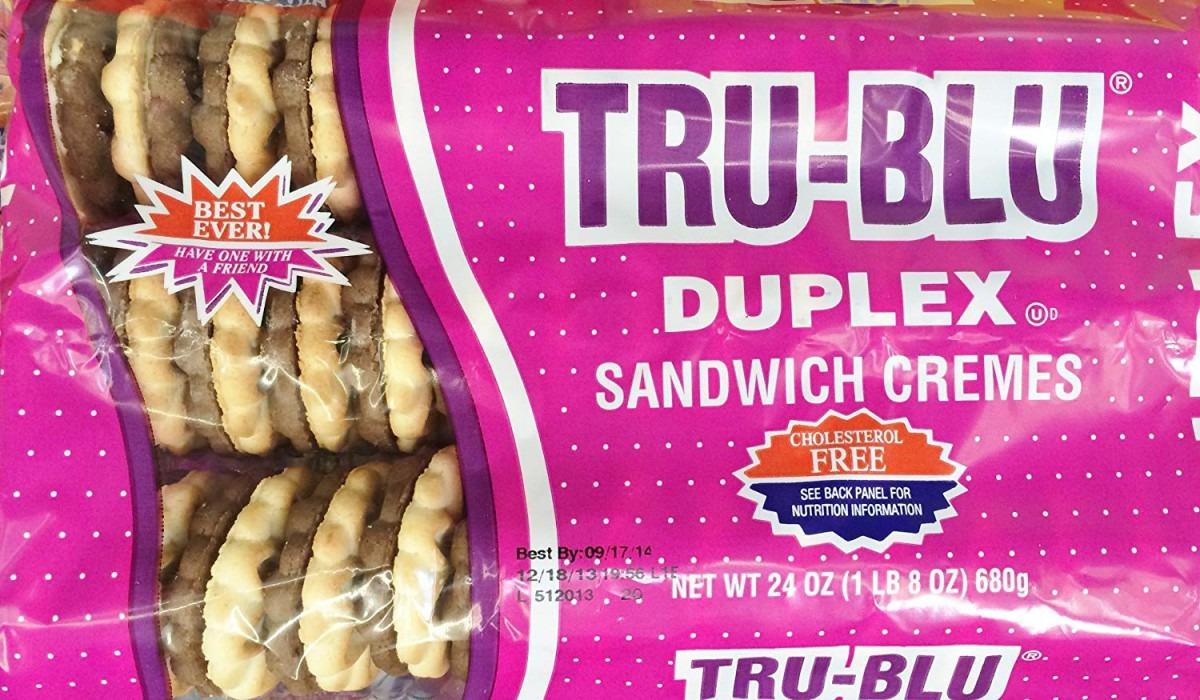 Amazon Com  24oz Tru Blu Sandwich Cremes Cookies Duplex, Pack Of 2