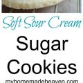 Sugar Cookies Made With Powdered Sugar