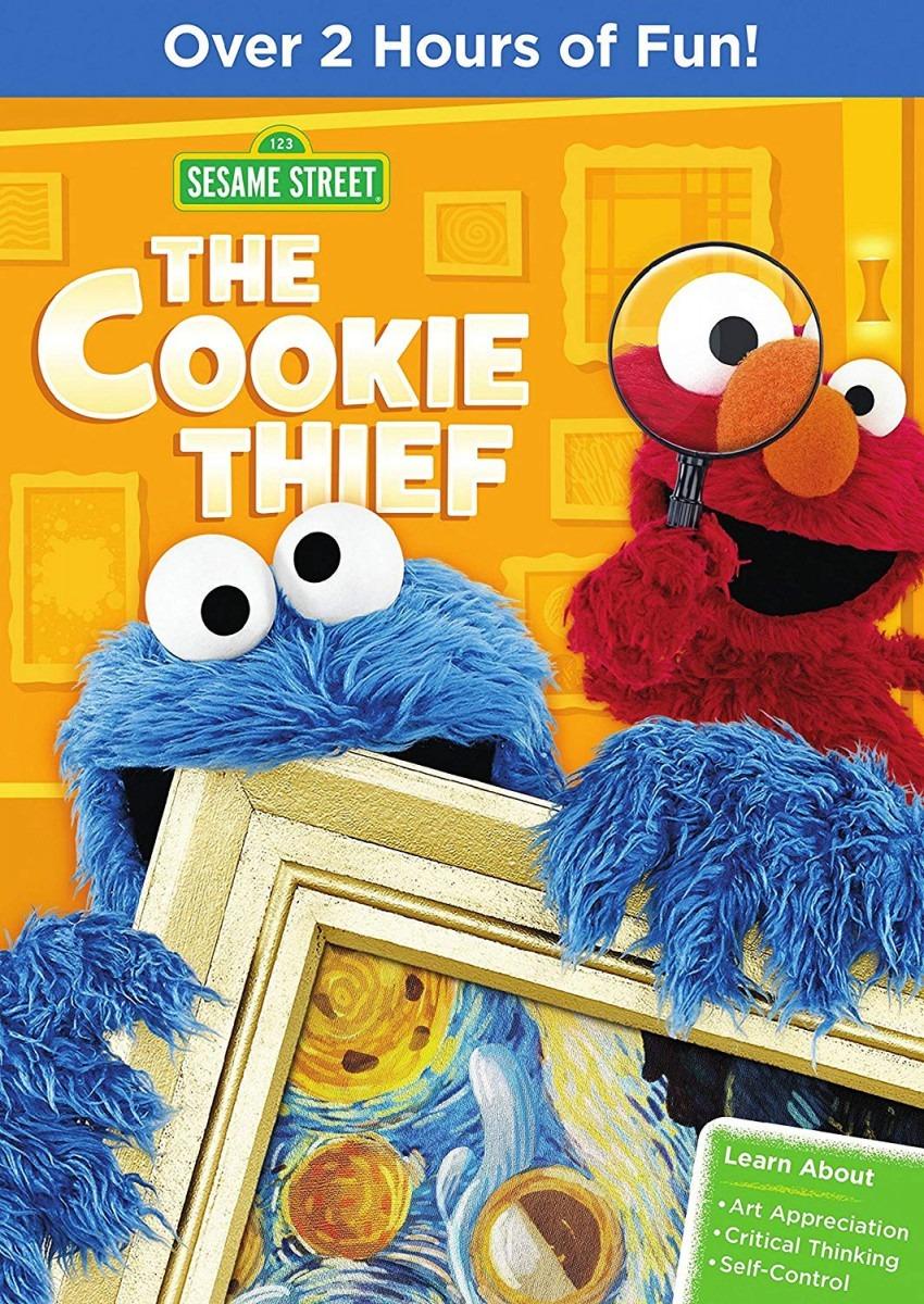 Amazon Com  Sesame Street  The Cookie Thief  Joey Mazzarino