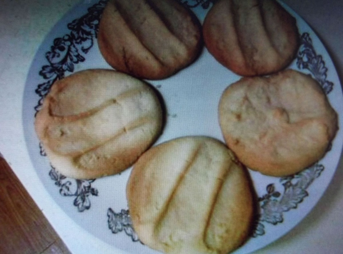 Famous Chicago Public High School Butter Cookies