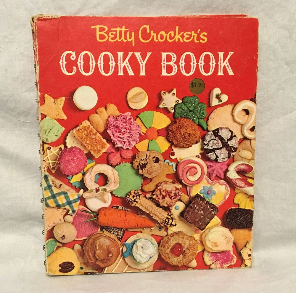 Betty Crocker S Cooky Book 1963 Cookies Cookbook First Edition