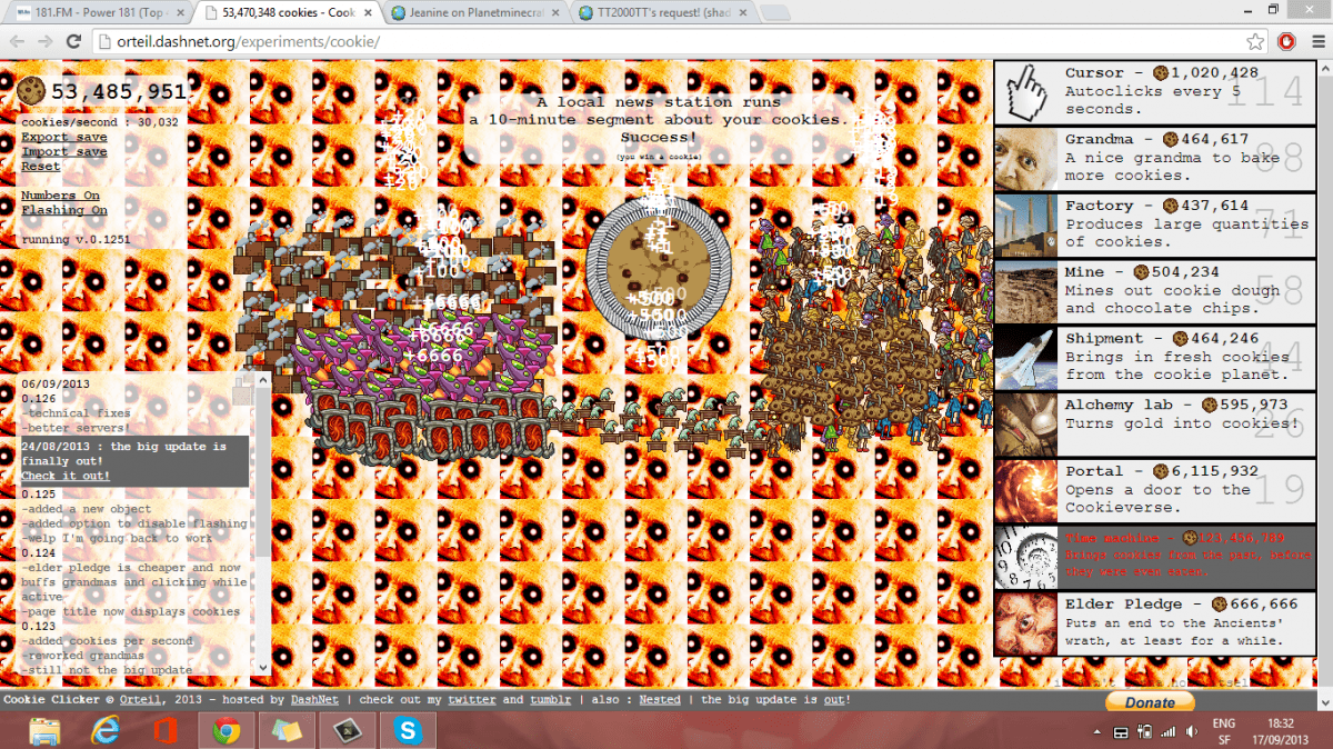 What Did I Do On Cookie Click