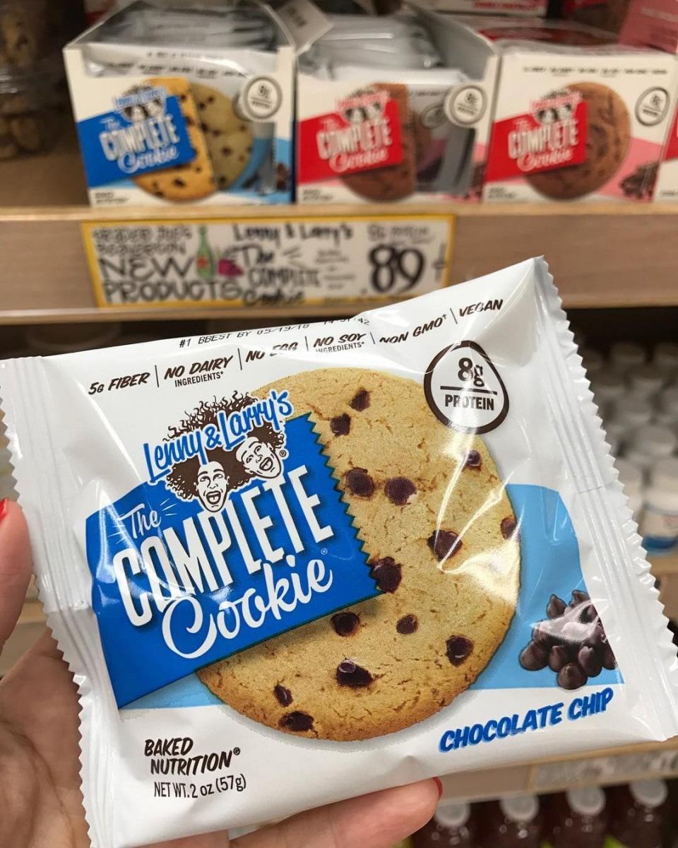 Spotted At Trader Joe's  @lennyandlarrys  Vegan Cookies!! Kinda