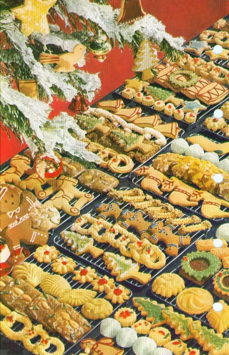 Old World Christmas Ornament Blog  Assorted Spritz Cookie