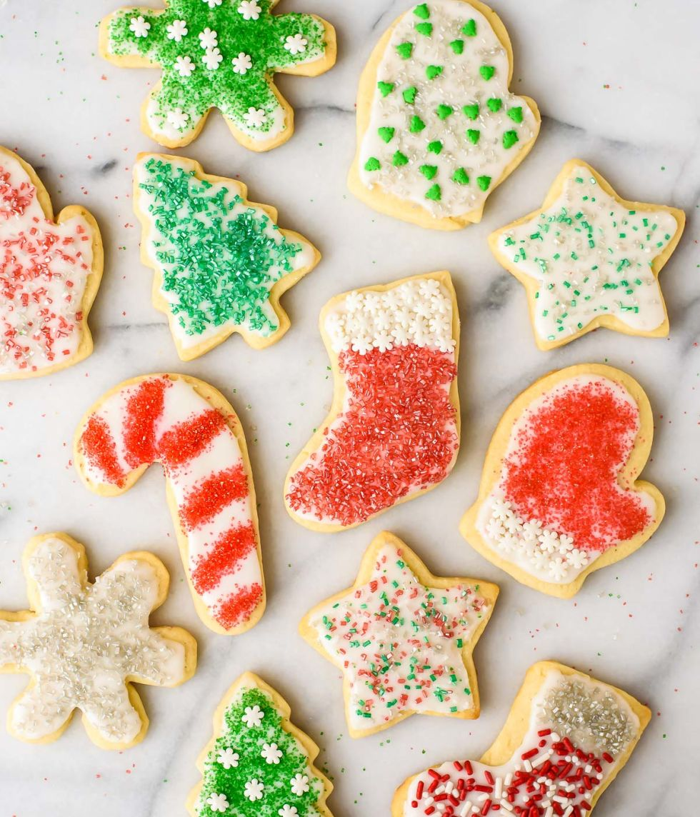 Easy Roll Out Sugar Cookies